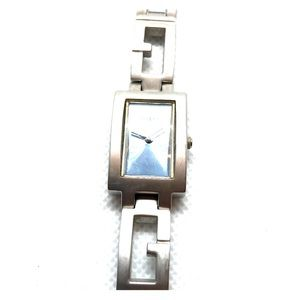 Vintage GUESS Womens Watch Blue Face Stainless